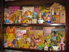 part of Elizabeths vintage Easter smirleyworld.blogspot.com
