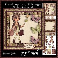 Cardtopper your style is just fab magenta 624 on Craftsuprint - View Now!
