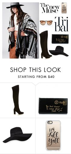 """""""Fall essentials"""" by bastet-noir ❤ liked on Polyvore featuring Yves Saint Laurent, San Diego Hat Co. and Casetify"""