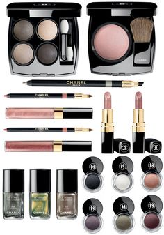 Chanel winter 2012 ombre collection