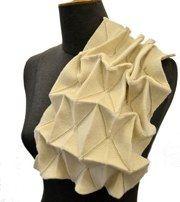 Structural Origami Knit  harriet woollard