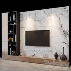 3d models: TV Wall - tv set 136 Modern Tv Room, Modern Tv Wall Units, Modern Farmhouse Living Room Decor, Modern Farmhouse Kitchens, Living Room Units, Living Room Tv Unit Designs, Tv Wall Decor, Wall Tv, Tv Wall Design