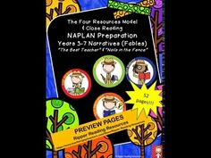 """""""The Best Teacher"""" and """"Nails in the Fence"""" Ripper Reading Resources Preview - YouTube"""