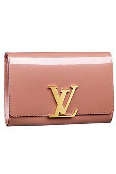 Louis Vuitton clutch....yes please!