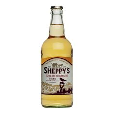 SHEPPY'S SOMERSET DRAUGHT CIDER: First created in 2010, this product combines traditional cider apples and eating apples to produce a crisp fruity cider.