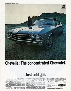 1969 Chevrolet Chevelle SS 396 Sport Coupe