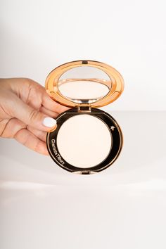 Charlotte Tilbury make up product photography mirrow powder Charlotte Tilbury, Product Photography, Diana, Powder, Make Up, Wedding Rings, Engagement Rings, Jewelry, Enagement Rings