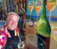 Bob Painting at Central Coast Wine Classic