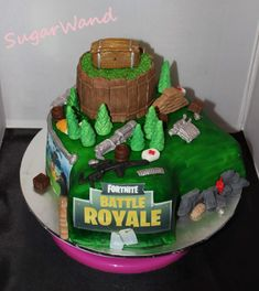Fortnite Cake My Cakes Pinterest Cake Birthday Parties And