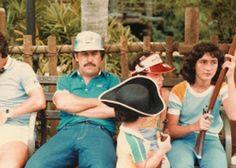Pablo Escobar e famiglia a 'Disney World' nel 1981 -