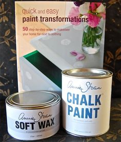 Introductory Chalk Paint® Kit. This kit includes all that you need to get started right away with Chalk Paint®.  Our introductory kit includes a quart of Chalk Paint® in your choice of color,  Annie Sloan's Soft Clear Wax, and the Quick and Easy Paint Transformations book.  Grab a paintbrush and GO FOR IT!