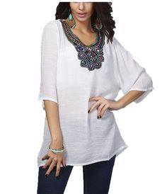 Women's Paris Bohemian 3/4 Sleeve Shirt Dress ** Remarkable product available now. : summer fashion