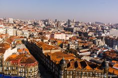 Do alto da Torre dos Cléricos temos uma ótima vista da cidade