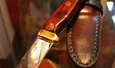 Handmade Irish Sheath knife  www.craftshopbantry.com Craft Shop, Irish, Leather, Crafts, Handmade, Shopping, Accessories, Manualidades, Irish People
