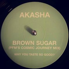 #nowspinning Akasha - Brown Sugar (PFM's Cosmic Journey Mix). Wall Of Sound: WALL T 028 X (1997). The mix title says it all. This IS a cosmic journey. PFM works magic (as always) on this remix. Staying faithful to the original with snippets of vocals and flutes but layering melodic and atmospheric feels all over it. It is such a lovely listening experience and a quality tune to drop early in a set or just play from the edge on a Sunday night. PFM remixes - why you taste so good? #dnb…