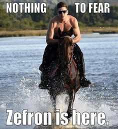"Zac Efron Is the New Ryan Gosling: Out With the ""Hey Girl"" Memes & In With ""The Zefron!"""