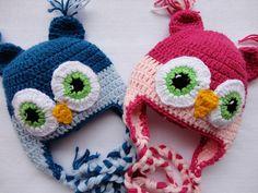 Touca Coruja para Gêmeos | Flickr – Compartilhamento de fotos!