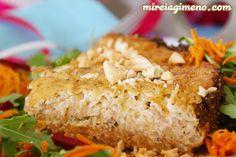 Quiche de cebolla caramelizada y almendras en mireiagimeno.com. Receta #vegana