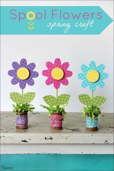 spring crafts for seniors 55