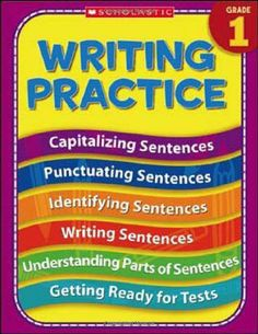 1st Grade Writing Practice (Practice (Scholastic)) by Terry Cooper. $5.99. Publication: January 1, 2006. Series - Practice (Scholastic). Publisher: Teaching Resources (January 1, 2006)