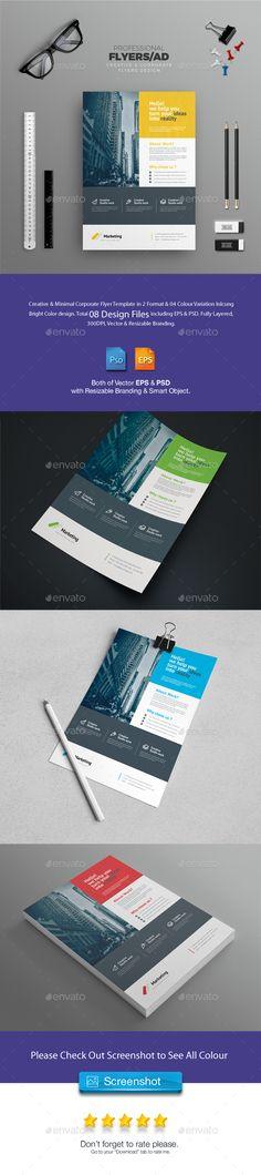 Flyer  — PSD Template #business flyer • Download ➝…