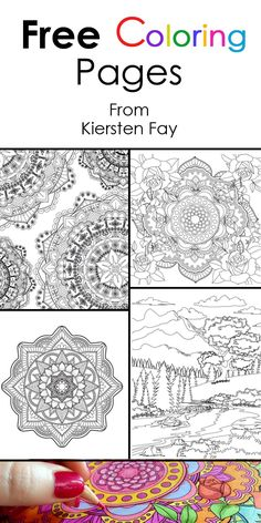 9 Best Adult Coloring Books Images On Pinterest