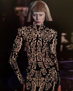 "Alexander McQueen for Givenchy, Fall 1999/2000. From ""Fashioning the Future: Tomorrow's Wardrobe"", 2005."
