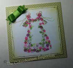 Birth or Christening card - image was hand stamped using Card-io stamps. Kids Cards, Baby Cards, Birthday Greetings, Birthday Cards, Cardio Cards, Cardmaking And Papercraft, Card Io, Die Cut Cards, Flower Cards