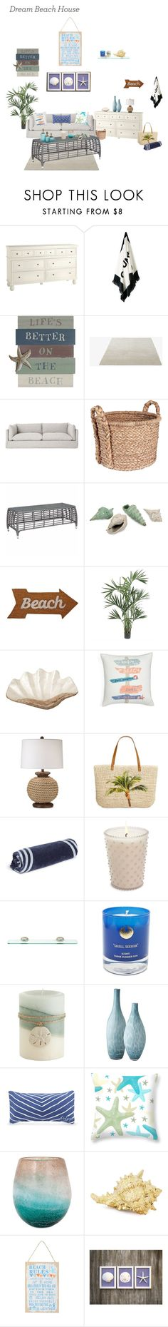 """""""Beach house"""" by xxotterspacexx ❤ liked on Polyvore featuring interior, interiors, interior design, home, home decor, interior decorating, Pier 1 Imports, &Tradition, Household Essentials and Zuo"""