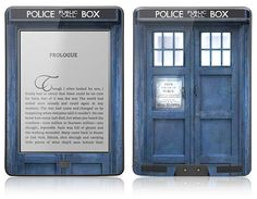 Amazon Kindle Touch Skin Cover  Police Public Call by skunkwraps, $14.95