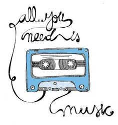 all you need is #music