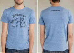 Great shirt - supports Pawesome blog too!