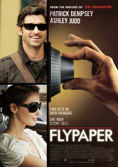 Tripp (Patrick Dempsey) walks into a bank to get some change and ends up as a hostage to two bank robber-teams, robbing the bank he is at. Movie To Watch List, Tv Series To Watch, Good Movies To Watch, See Movie, Movie List, Great Movies, Film Movie, Patrick Dempsey, Ashley Judd