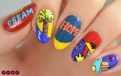 The Best Nail Art Designs – Your Beautiful Nails Korean Nail Art, Korean Nails, Korean Art, Simple Nail Art Designs, Best Nail Art Designs, Cute Nails, Pretty Nails, Army Nails, Best Acrylic Nails