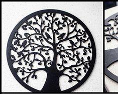 Tree of Life Wall Art Décor Tree Wall Art, Wall Art Decor, Dream Catchers, Handmade, Etsy, Trees, Iron, Budget, Life