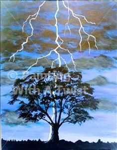 Late Thunderstorm - Austin (Lakeway), TX Painting Class - Painting with a Twist