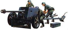 1/35 German 75mm Anti-Tank Gun (tam35047) Tamiya Plastic Model Military Dioramas