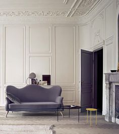 French interior featuring gorgeous architectural details