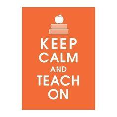 I'm going to be a Teacher
