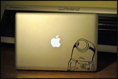 Minion : Apple Macbook Pro & Air LAPTOP Decal/Sticker on Etsy, 6,69 €