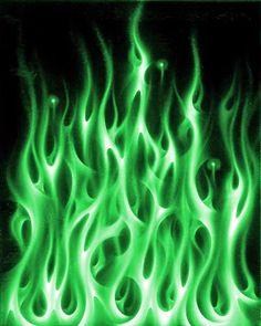 Vibração das chamas sagradas