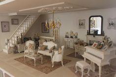la casa di lu: il soggiorno