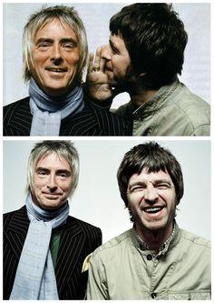 Chief + Modfather = ♥ Liam And Noel, Sigur Ros, Primal Scream, Music X, Paul Weller, Weezer, Rock News, Noel Gallagher, Just Believe