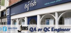 QA or QC Engineer Jobs in Big Fish Recruitment in Abu Dhabi Visit jobsingcc.com for more info @ http://jobsingcc.com/qa-qc-engineer-jobs-big-fish-recruitment/