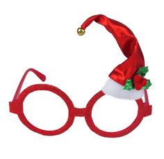 These Xmas glasses are a perfect novelty fancy dress accessory for a Christmas party and excellent sellers at Christmas time. Featuring red glitter frames (no lens), in an adult size with a fabric mini santa hat perched on top. Glitter Frame, Red Glitter, Christmas Glasses, Christmas Time, Animal Print Party, Novelty Sunglasses, Wholesale Hats, Pixel Pattern, Novelty Toys