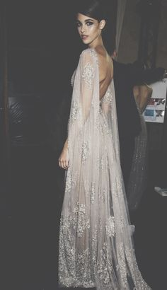 Elie Saab. The back! Draping is gorgeous.