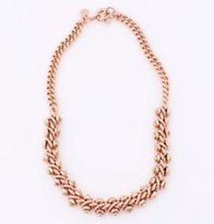 Marc Jacobs MARC BY MARC JACOBS Screwy Bolt Rose Goldtone Necklace 20