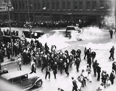 1934: Police use tear gas against unemployed march on City Hall ...