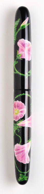 NAKAYA FOUNTAIN PEN - Japanese handmade fountain pens ~ 'Convoluvulus(Japanese bindweed)