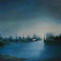 Berg | Near Sutton Place | Oil on Canvas | http://www.artistics.com/en/art/_berg/du-c%C3%B4t%C3%A9-de-sutton-place